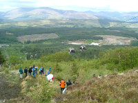 World cup Bike Race on Aonach Mor