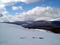 View from top of Gondola Station on Aonach Mor